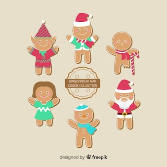 Raccolta di biscotti di panpepato
