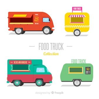 Raccolta di camion di cibo
