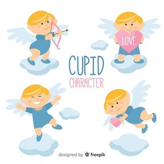 Raccolta di Cupido San Valentino felice