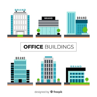 Raccolta di diversi edifici per uffici