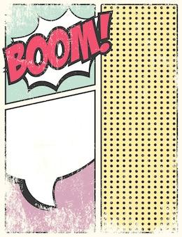 Raccolta di elementi di fumetti
