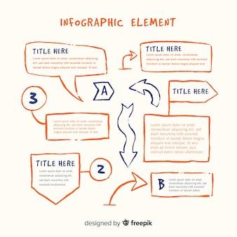 Raccolta di elementi di infografica