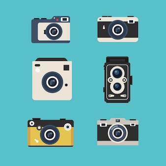 Raccolta di fotocamera vintage