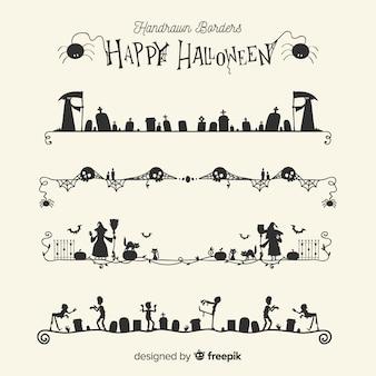 Raccolta di frontiera per halloween