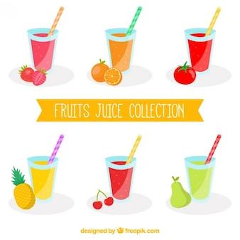 Raccolta di frutti succo