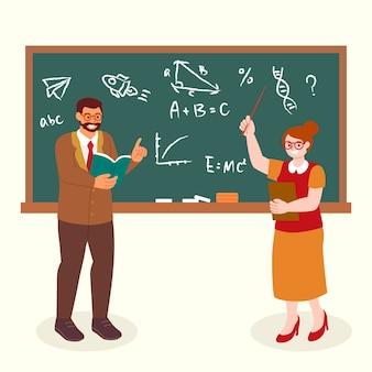 Raccolta di insegnante di matematica