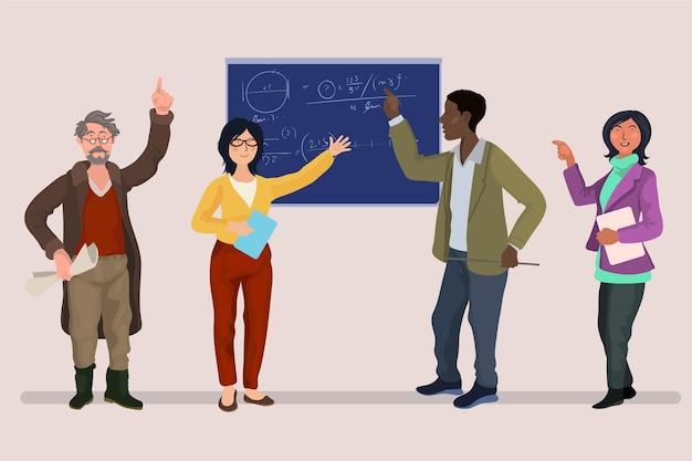 Raccolta di insegnanti