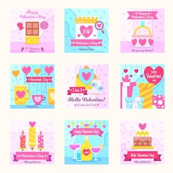 Raccolta di messaggi instagram per san valentino