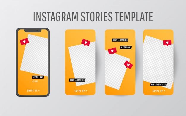 Raccolta di modelli di storie modificabili