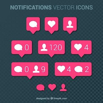Raccolta di notifiche instagram