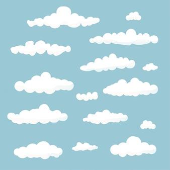 Raccolta di nuvole.