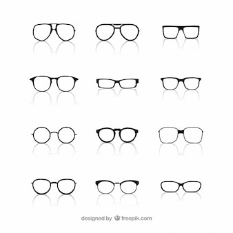 Raccolta di occhiali