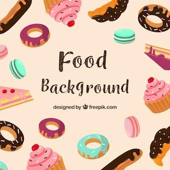 Raccolta di piatti alimentari