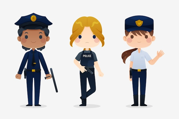 Raccolta di poliziotti