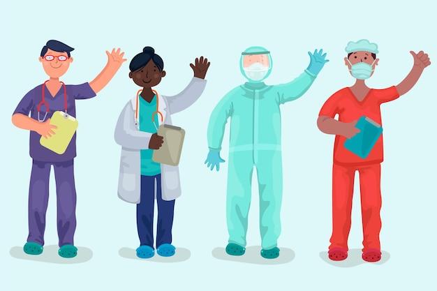 Raccolta di professionisti della salute