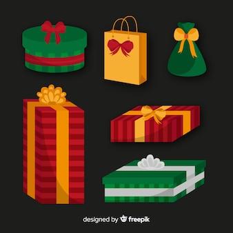 Raccolta di regali di natale