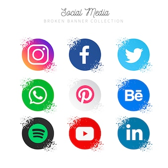Raccolta di social media popolare