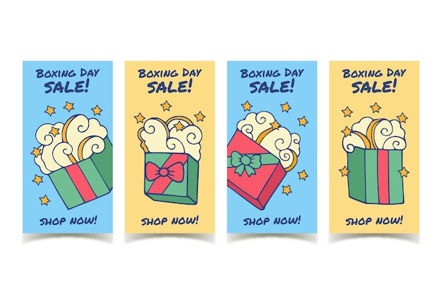 Raccolta di storie di instagram di vendita di santo stefano