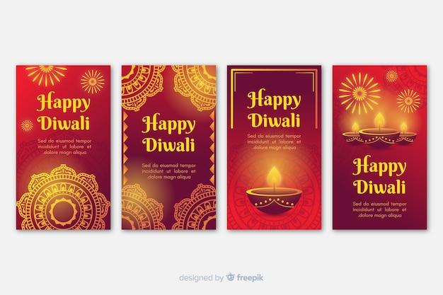 Raccolta di storie di instagram diwali