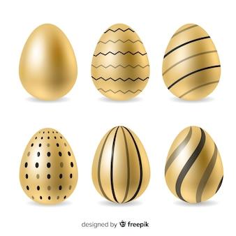 Raccolta di uova di pasqua