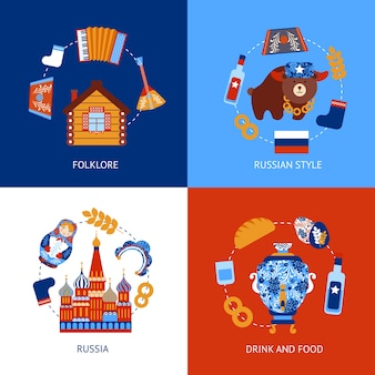 Raccolta disegni russi