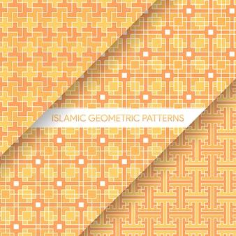 Raccolta geometrica senza cuciture dei modelli di stile islamico