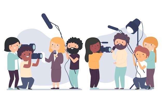 Raccolta giornalisti