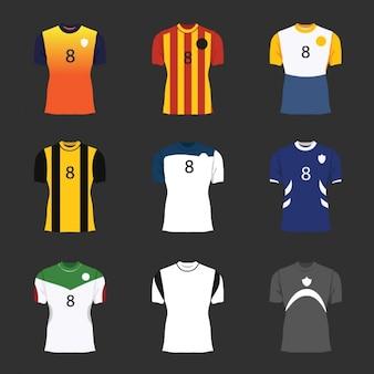 Raccolta magliette da calcio
