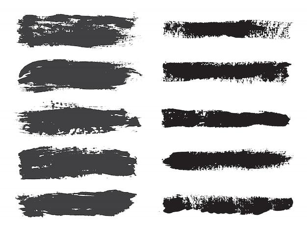 Raccolta pennellata nera