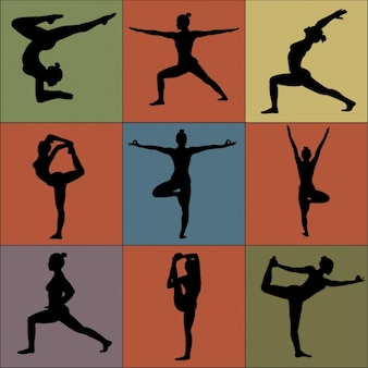 Raccolta posture yoga