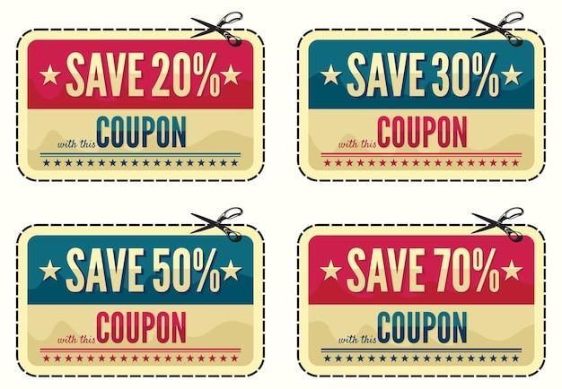 Raccolta vendita coupon