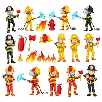 Raccolta vigili del fuoco