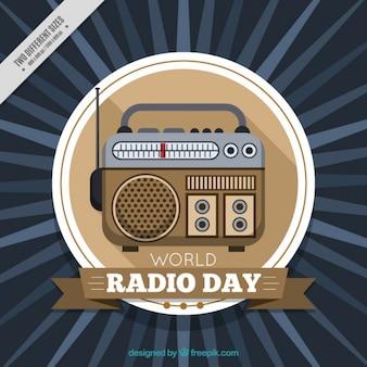 Radio d'epoca sfondo