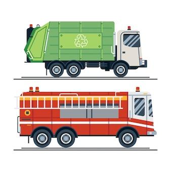 Raffreddare veicolo sanitario urbano