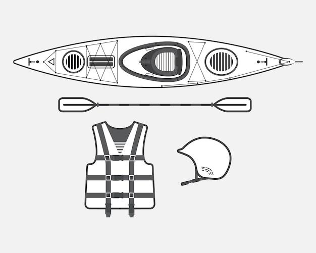 Rafting piatto