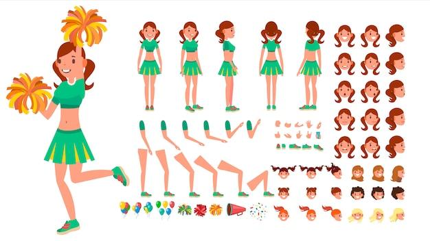 Ragazza cheerleader