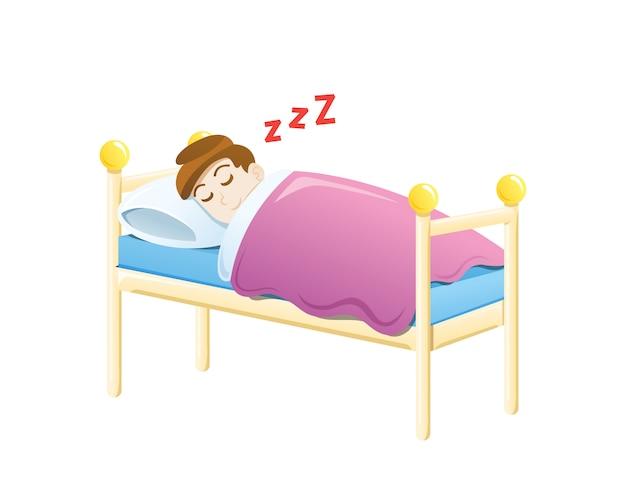 Ragazzino che dorme