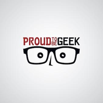 Ragazzo secchione geek