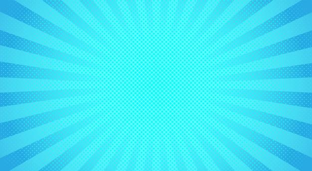 Raggi di sole blu mezzitoni sfondo. illustrazione.