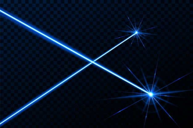 Raggio luminoso di sicurezza raggio laser raggio di luce.