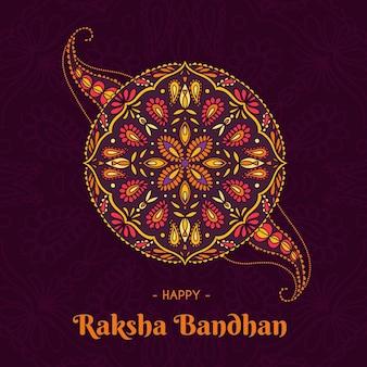 Raksha bandhan disegnato a mano