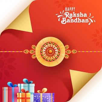 Raksha bandhan festival celebrazione concept