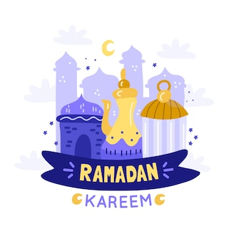 Ramadan con la luna