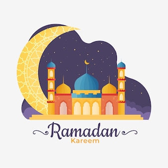 Ramadan in design piatto