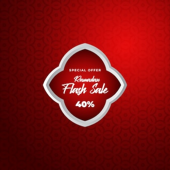 Ramadan sales background