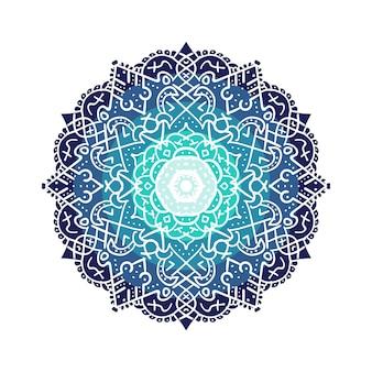 Ramadhan decorative mandala vector
