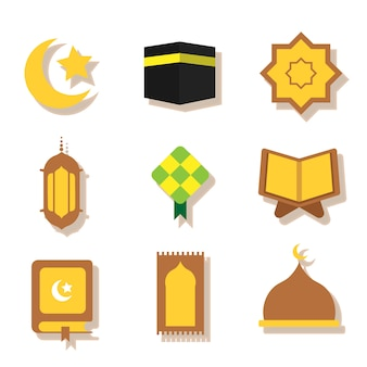 Ramadhan vector set