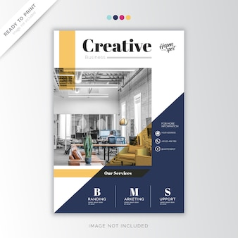 Rapporto annuale corporate, design creativo