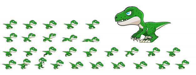 Raptor game sprites