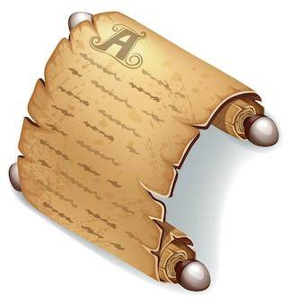 Reale vecchia pergamena